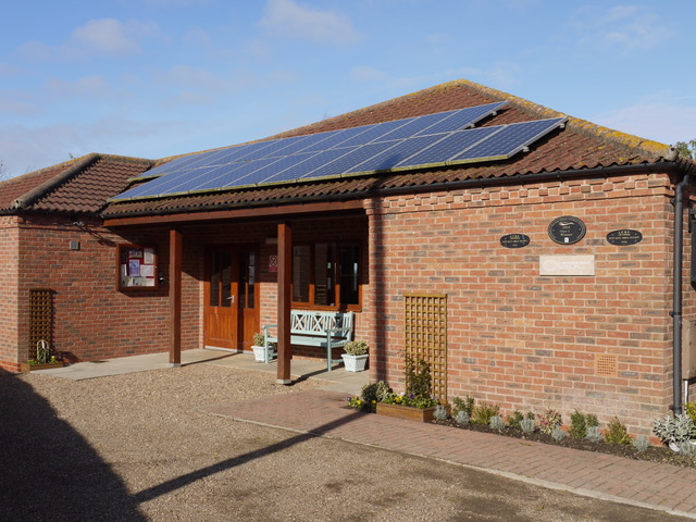 This is a picture of our village hall